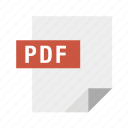 document, filetypes, format, pdf, portable icon