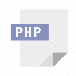 filetypes, php icon