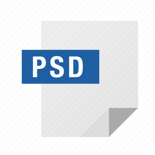 filetypes, psd icon