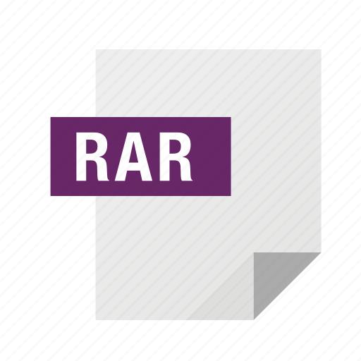 archive, filetypes, rar icon