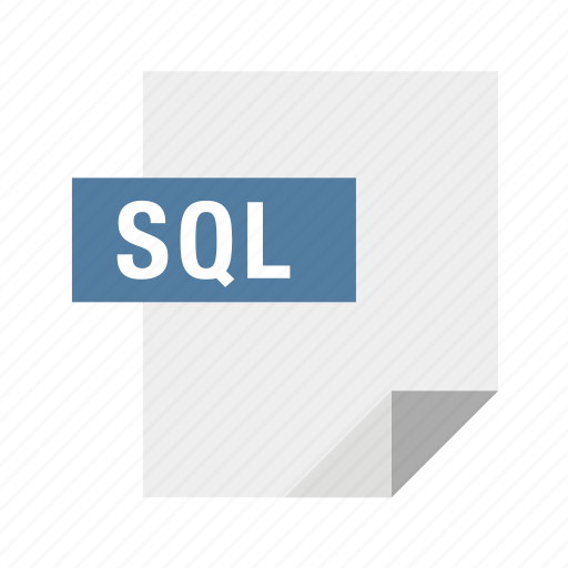 database, filetypes, mysql, postgres, sql icon