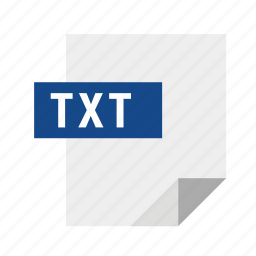 filetypes, text, txt icon