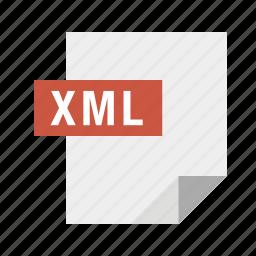 filetypes, xml icon