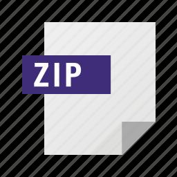 archive, filetypes, zip icon