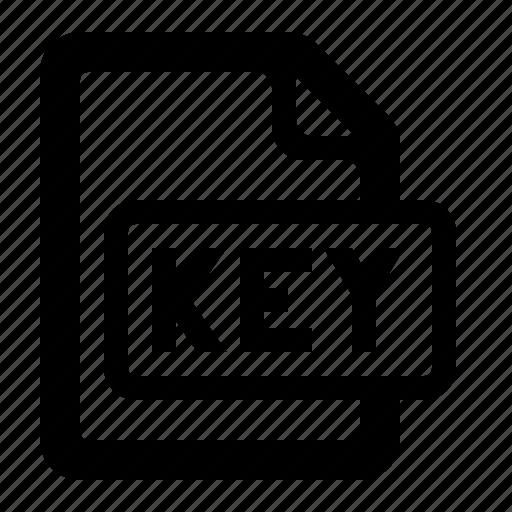file, filetypes, key, key file, keynote, presentation, watchkit icon