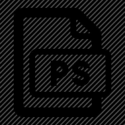 file, filetypes, postscript, print, ps, ps file, watchkit icon