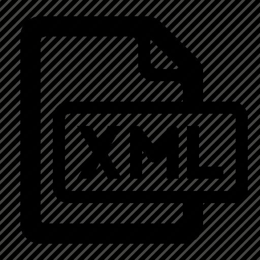 document, file, filetypes, watchkit, xml, xml document, xml file icon
