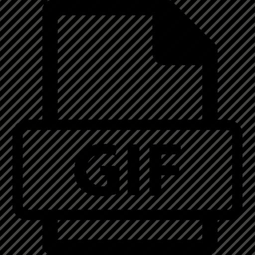 animated gif, gif, gif extension, gif file, gif format icon