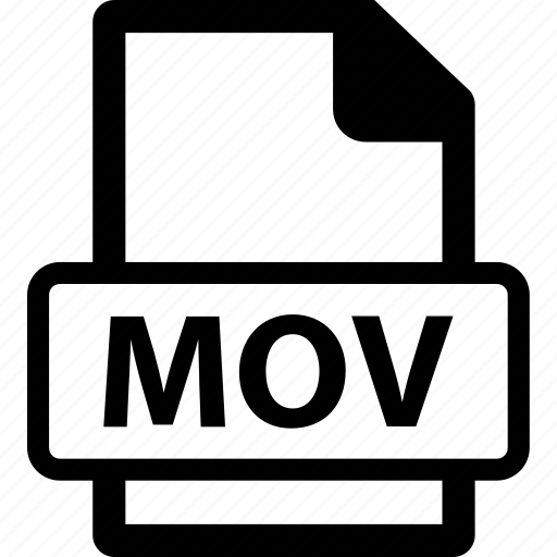 mov, mov extension, mov file, mov format icon