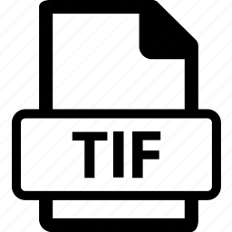 tif, tif data, tif document, tif extension, tif file icon