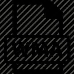 wma, wma data, wma document, wma extension, wma file icon