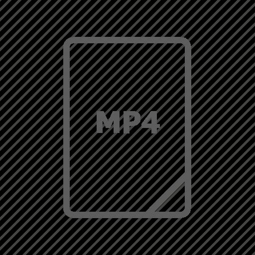 document, file, image file, mp3 file, mp4 file, presentation document, video file icon