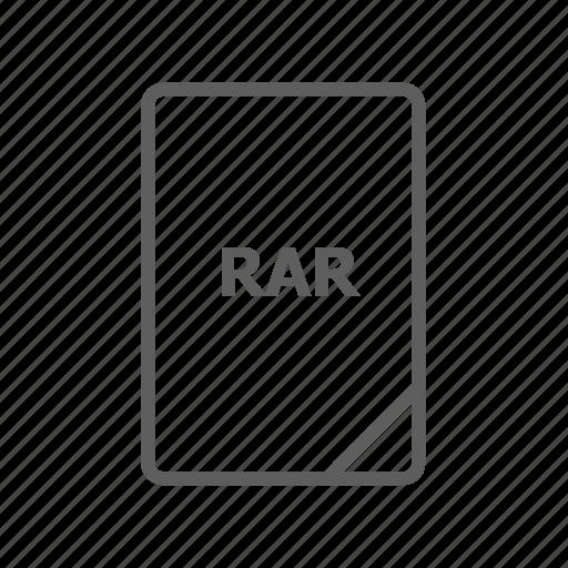 document, file, image file, presentation document, rar, rar file, video file icon