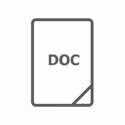 doc, doc file, document, file, image file, presentation document, video file icon