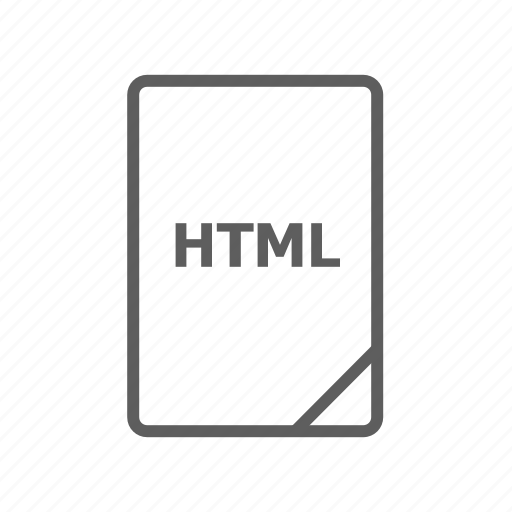 css, document, file, html, image file, presentation document, video file icon