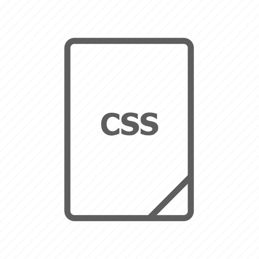 css, document, file, image file, presentation document, style sheet, video file icon