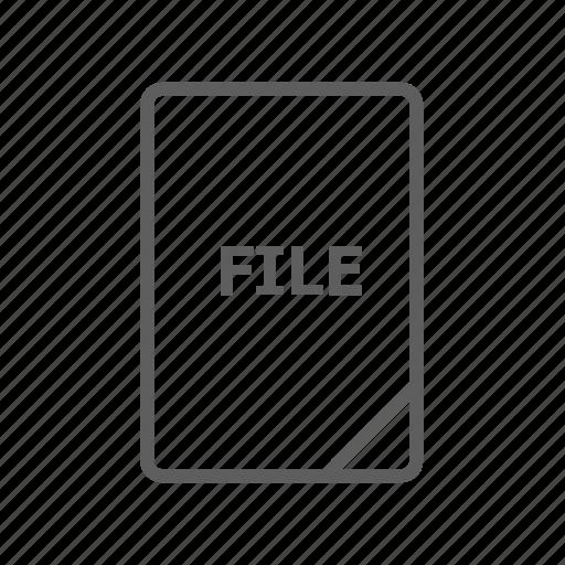 audio file, document, file, image file, mp3 file, presentation document, video file icon