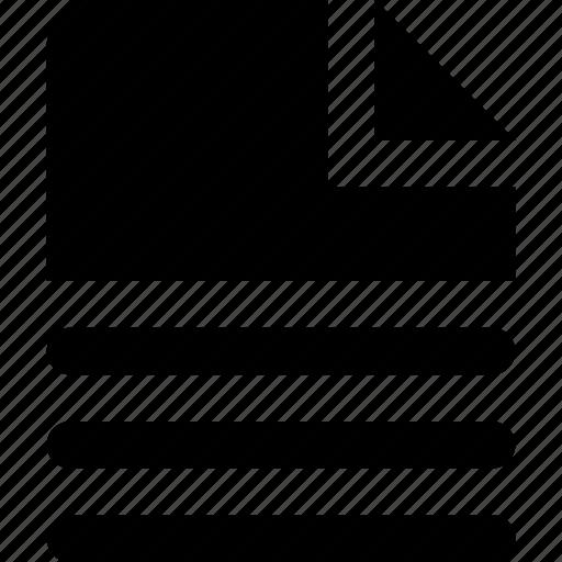 file, partial icon