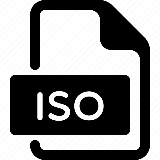 document, file, iso, type icon