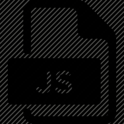 document, file, js, script, type icon