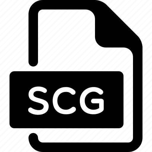 document, file, scg, type icon