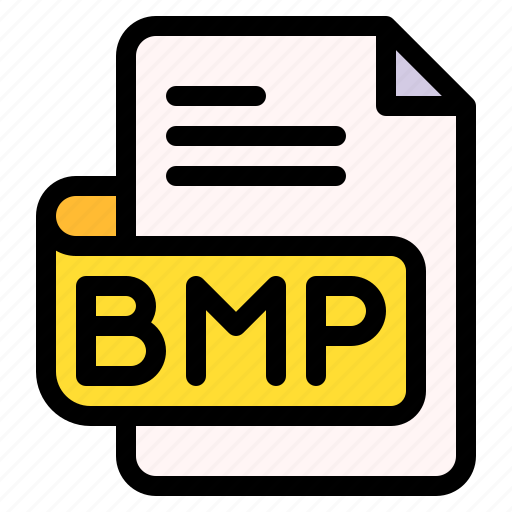 Bmp, file, type, format, extension, document icon - Download on Iconfinder