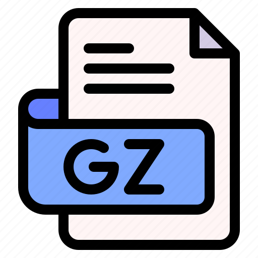 Gz, file, type, format, extension, document icon - Download on Iconfinder