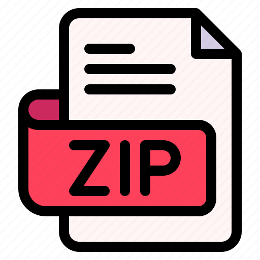 Zip, file, type, format, extension, document icon - Download on Iconfinder