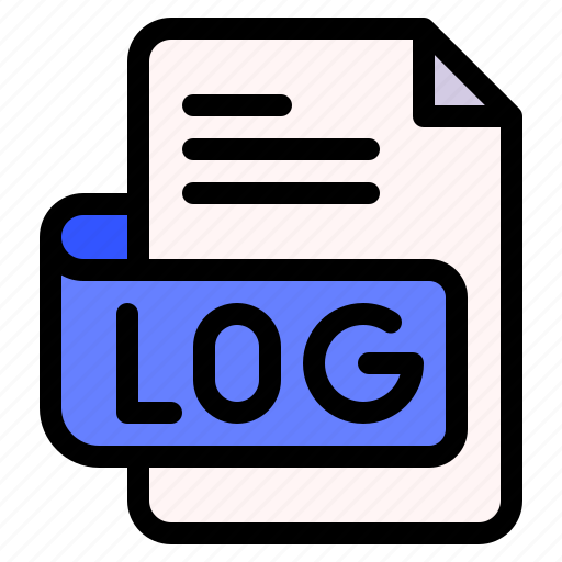 Log, file, type, format, extension, document icon - Download on Iconfinder
