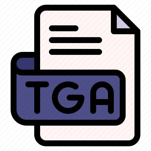 Tga, file, type, format, extension, document icon - Download on Iconfinder