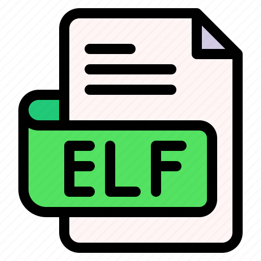 Elf, file, type, format, extension, document icon - Download on Iconfinder