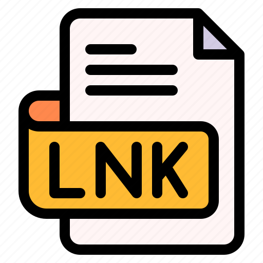 Lnk, file, type, format, extension, document icon - Download on Iconfinder