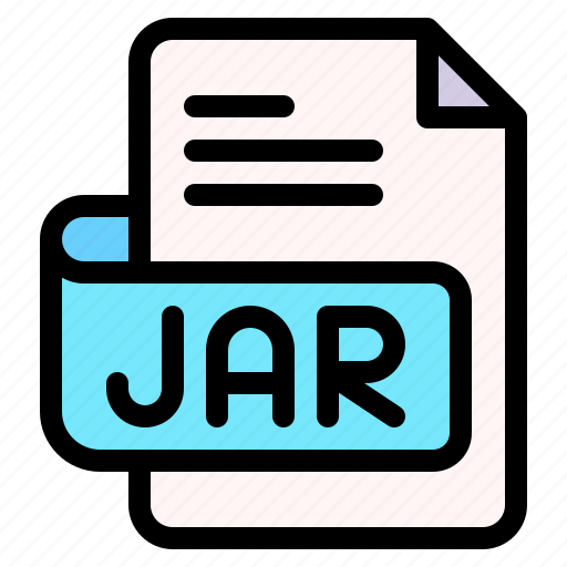 Jar, file, type, format, extension, document icon - Download on Iconfinder