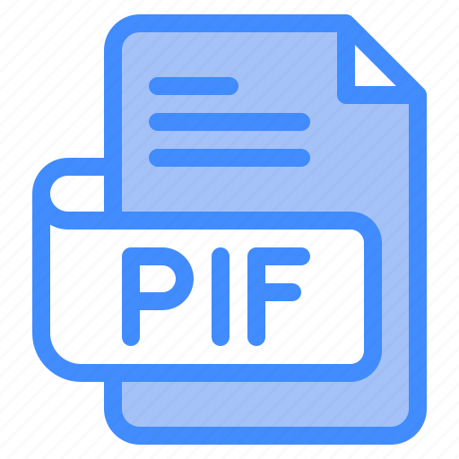 Pif, file, type, format, extension, document icon - Download on Iconfinder