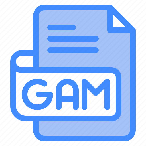 Gam, file, type, format, extension, document icon - Download on Iconfinder