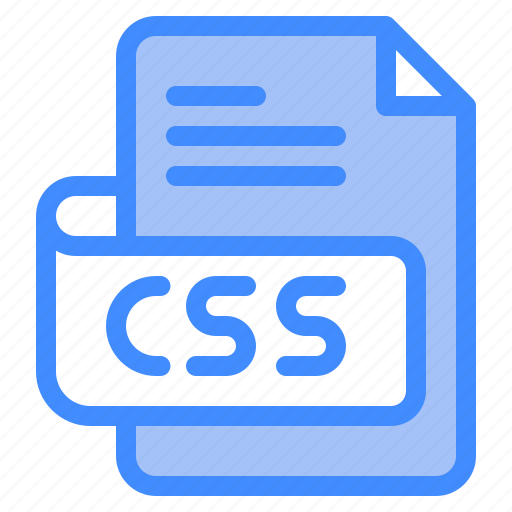 Css, file, type, format, extension, document icon - Download on Iconfinder