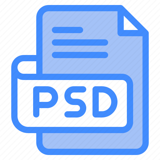 Psd, file, type, format, extension, document icon - Download on Iconfinder