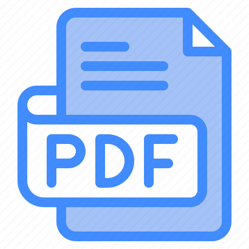 Pdf, file, type, format, extension, document icon - Download on Iconfinder