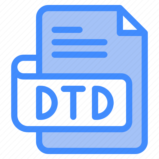 Otd, file, type, format, extension, document icon - Download on Iconfinder