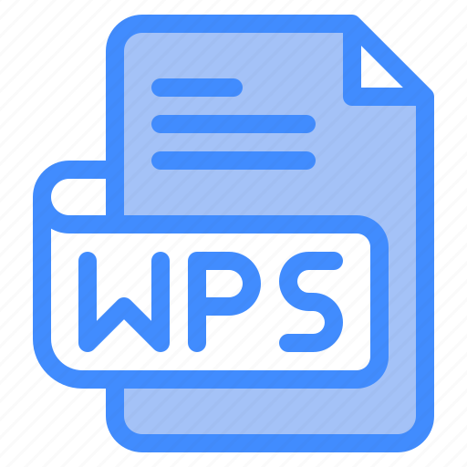 Wps, file, type, format, extension, document icon - Download on Iconfinder