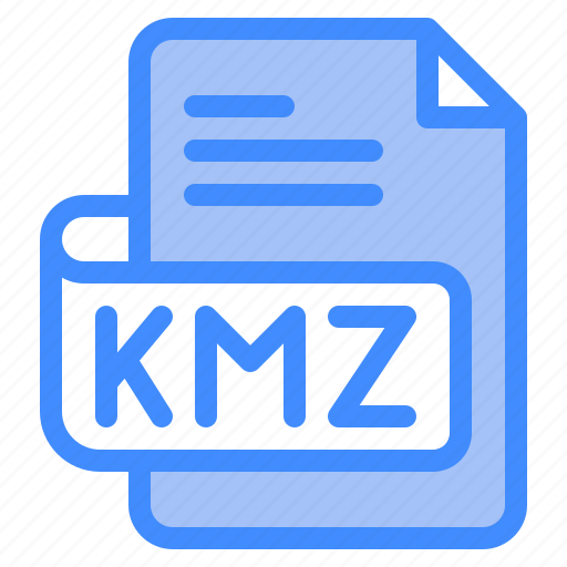 Kmz, file, type, format, extension, document icon - Download on Iconfinder