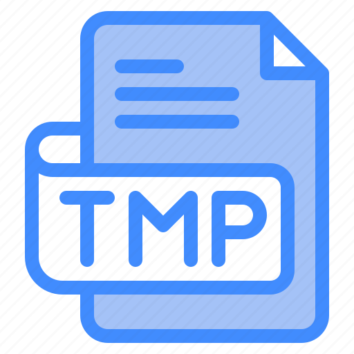 Tmp, file, type, format, extension, document icon - Download on Iconfinder