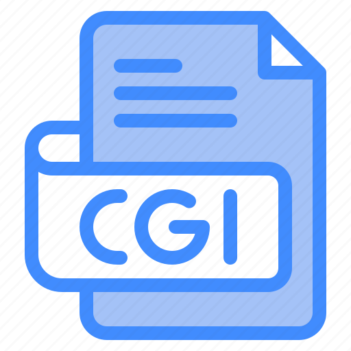 Cgi, file, type, format, extension, document icon - Download on Iconfinder