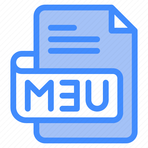 M3u, file, type, format, extension, document icon - Download on Iconfinder