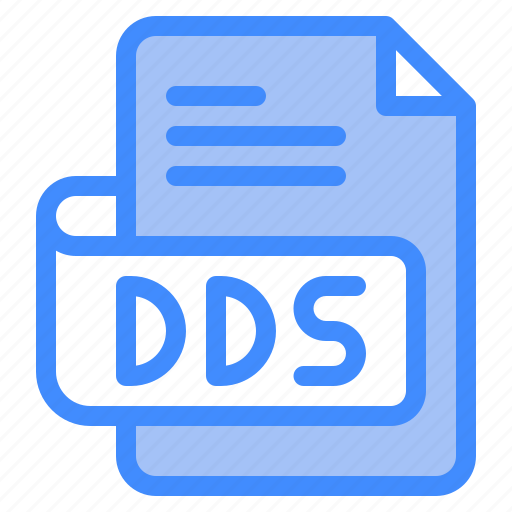 Dds, file, type, format, extension, document icon - Download on Iconfinder