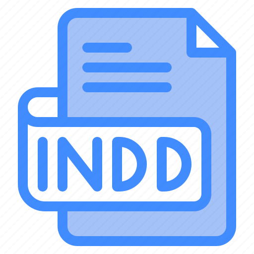 Indd, file, type, format, extension, document icon - Download on Iconfinder
