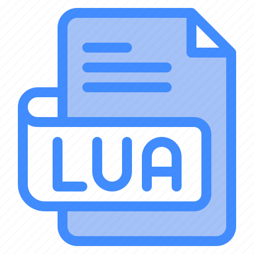 Lua, file, type, format, extension, document icon - Download on Iconfinder