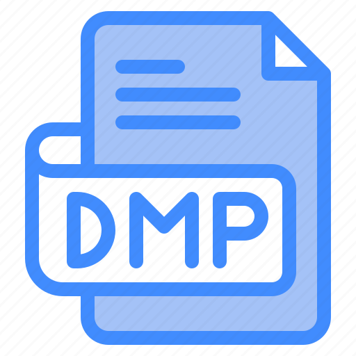 Dmp, file, type, format, extension, document icon - Download on Iconfinder