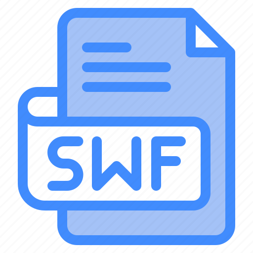 Swf, file, type, format, extension, document icon - Download on Iconfinder