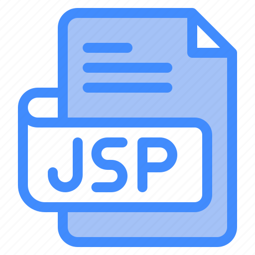 Jsp, file, type, format, extension, document icon - Download on Iconfinder